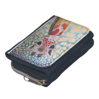 Colorful Giraffe Design Wallet
