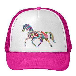 Colorful Girly Fantasy Horse Cap
