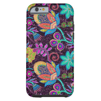 Colorful Glass Beads Look Retro Floral Design iPhone 6 Case