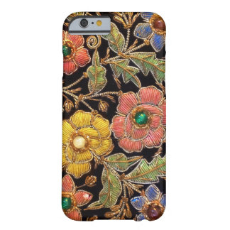 Colorful Glass Beads Vintage Floral Design Barely There iPhone 6 Case