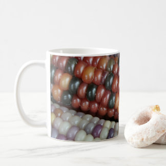 Colorful Glass Gem Corn on the Cob Coffee Mug
