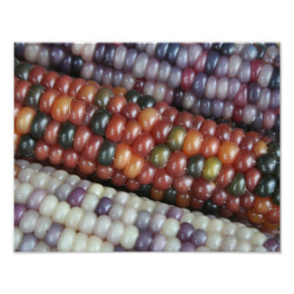 Colorful Glass Gem Corn on the Cob Photo Print