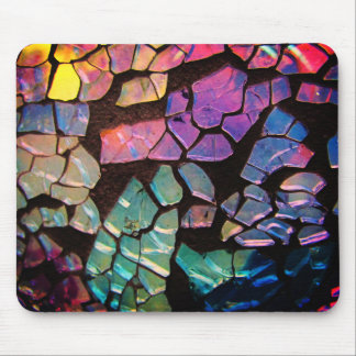 Colorful Glass Mosaic Mouse Pad