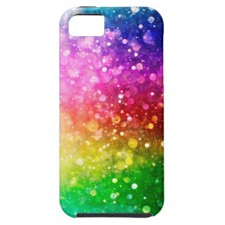 Colorful Glitter Bokeh Style iPhone 5 Covers