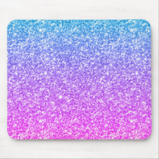 Colorful Glitter & Sparkles Modern Design Mouse Pad