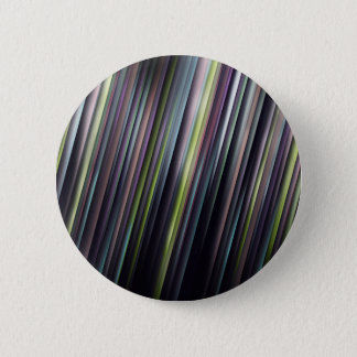 Colorful Glowing Stripes 6 Cm Round Badge
