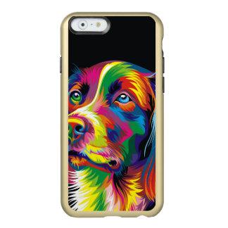 Colorful golden retriever incipio feather® shine iPhone 6 case