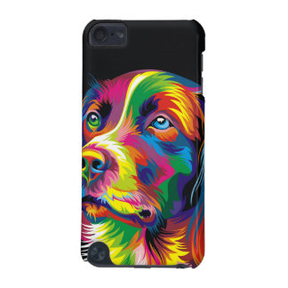 Colorful golden retriever iPod touch (5th generation) covers
