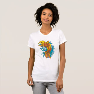 Colorful Goldfish Koi T-Shirt