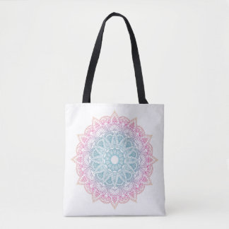 Colorful Gradient Mandala Bag