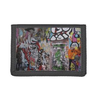Colorful Graff Tri-fold Wallets