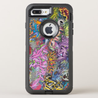 Colorful graffiti design art OtterBox defender iPhone 8 plus/7 plus case