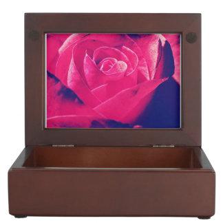 Colorful Grannys Rose Keepsake Box