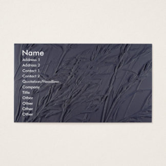 Colorful Grass Relief Business Card