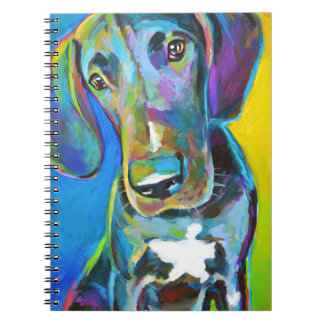 Colorful GREAT DANE Notebook