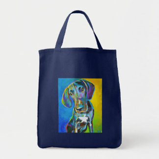 Colorful GREAT DANE Tote Bag