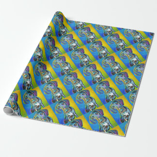 Colorful GREAT DANE Wrapping Paper