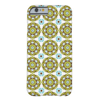 Colorful Green Brown Blue Pattern iPhone 6 case