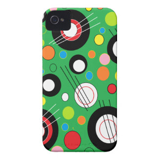 Colorful Green iPhone 4 Covers