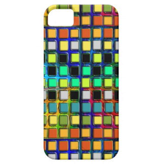 Colorful Grid-Tiled by Shirley Taylor Barely There iPhone 5 Case