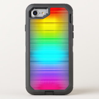 Colorful Growing Pattern OtterBox Defender iPhone 8/7 Case