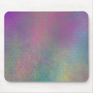 Colorful, Grungy Texture Abstract Remix Mouse Pad