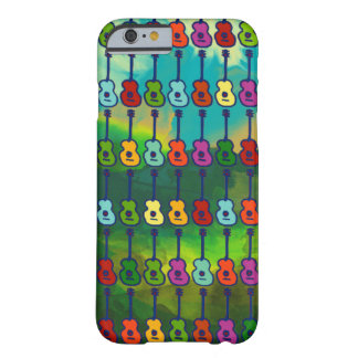 colorful guitars barely there iPhone 6 case