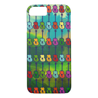 colorful guitars iPhone 7 case