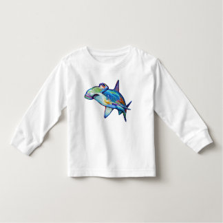 Colorful Hammerhead Shark by Robert Phelps Toddler T-Shirt
