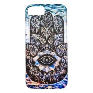 Colorful Hamsa Eye Fractal Art iPhone 8/7 Case