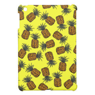 colorful hand painted tropical pineapple pattern case for the iPad mini