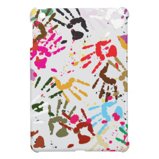 Colorful Hands iPad Mini Cases