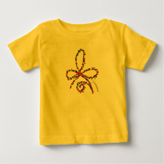 Colorful Happy Celtic Strength Symbol Baby T-Shirt