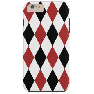 Colorful Harlequin Pattern Tough iPhone 6 Plus Case