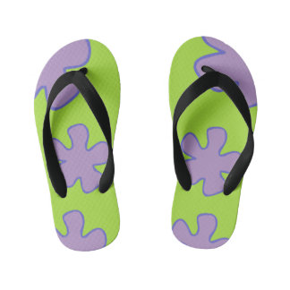 Colorful Hawaiian Shoes Kid's Thongs