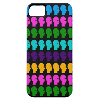 Colorful heads iPhone 5 covers