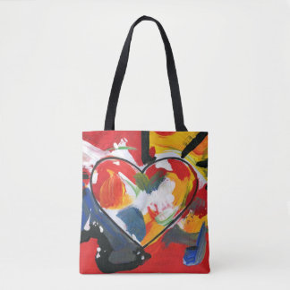 Colorful Heart bag