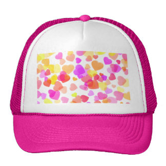 Colorful Hearts Cap