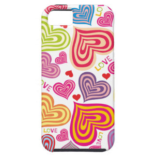 COLORFUL HEARTS Case-Mate Vibe iPhone 5 Case