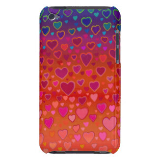 Colorful Hearts iPod Touch Case