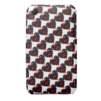 Colorful hearts love case iPhone 3 Case-Mate cases