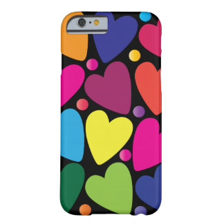 Colorful Hearts Phone Case Barely There iPhone 6 Case