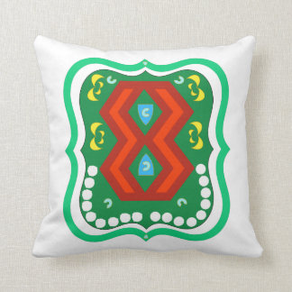 Colorful Heritage Throw Pillow