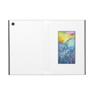 Colorful Hills Plants and Fox Case For iPad Mini