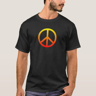 Colorful Hippie Peace Love Music T-Shirt