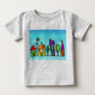 Colorful Homes Baby Fine Jersey T-Shirt
