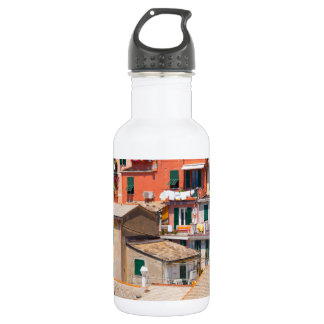 Colorful Homes in Cinque Terre Italy 532 Ml Water Bottle