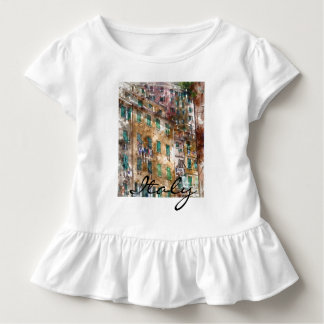 Colorful Homes in Cinque Terre Italy Toddler T-Shirt