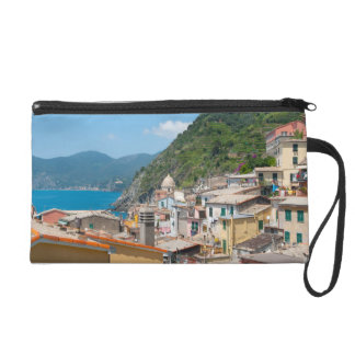 Colorful Homes in Cinque Terre Italy Wristlets