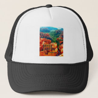 Colorful Hoodoos in Bryce Canyon National Park Trucker Hat